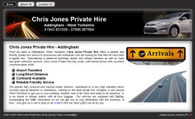 Chris Jones Website